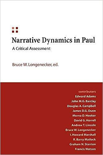 e592800a499f0f Narrative Dynamics in Paul  A Critical Assessment  Bruce W ...
