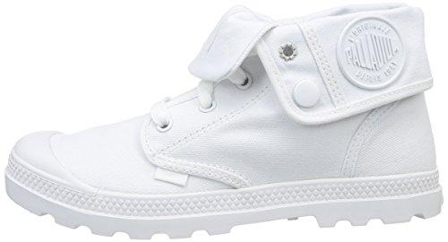 Blanc Mujer De Blanco Palladium white Baggy Lp Canvas Botas Low xwCnO6FqS