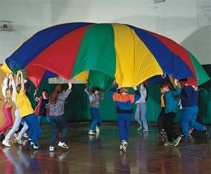 (24' Rainbow Play Parachute)