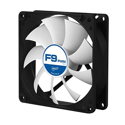 ARCTIC F9 PWM Rev. 2 Fluid Dynamic Bearing Case Fan, 92mm PWM Speed Control, 43CFM at ()