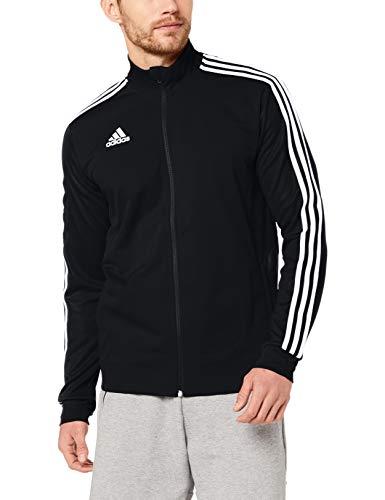 adidas Herren TIRO19 TR JKT Sport Jacket, Black/Black/White, M 1