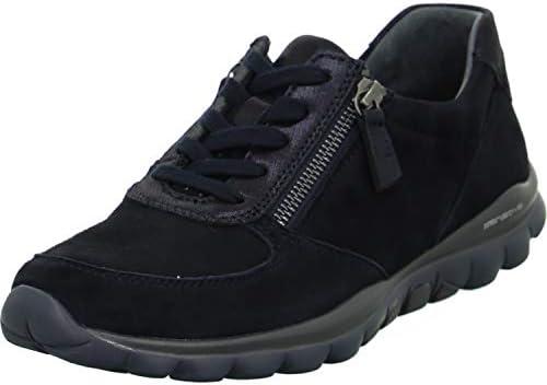 Gabor Rollingsoft halfschoenen in grote maten blauw 9696826 grote damesschoenen