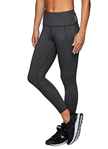 RBX Active Women's 7/8 Ankle Workout Yoga Leggings Grey L