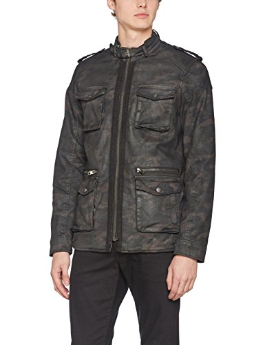 Malcolm Tigha Camouflage Men's Multicolour Jacket 603 PPg5zqwr