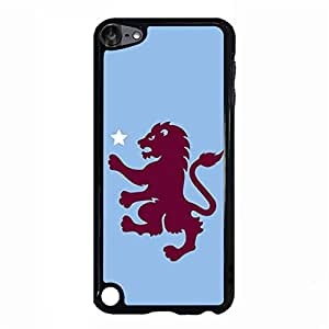 Aston Villa FC Logo Phone Cover Case Simple Fashion Cute Official EPL FC Aston Villa AVFC Logo Cell Phone Case Cover for Ipod Touch 5th Generation