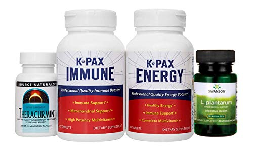 Physician Formulated K-PAX After Chemo Pack - Natural Immune System Support - Improves Energy - Detox and Digestive Support - 1 Month Supply ()