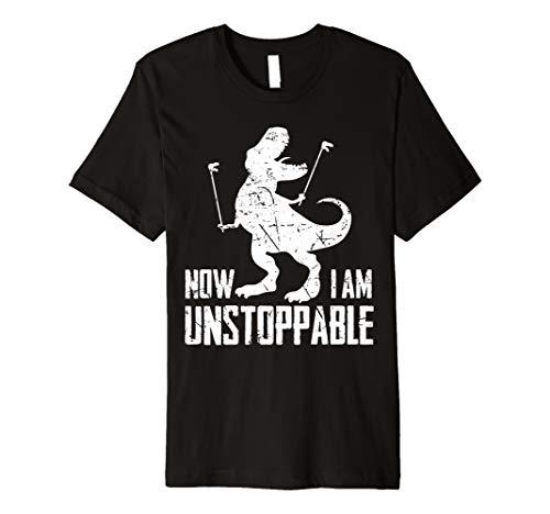 Now I Am Unstoppable Funny T-Rex Grabber Hand Premium T-Shirt