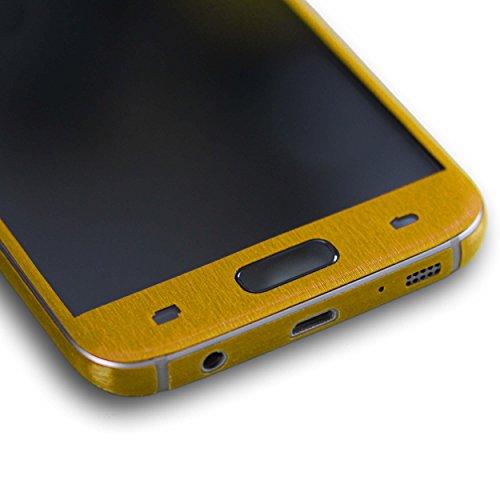 AppSkins Folien-Set Samsung Galaxy S7 Metal gold