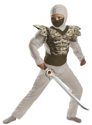 Kids  (Childrens Camouflage Ninja Costumes)