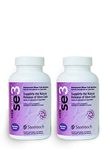 2 pack StemEnhance StemRelease SE3,60 capsules each