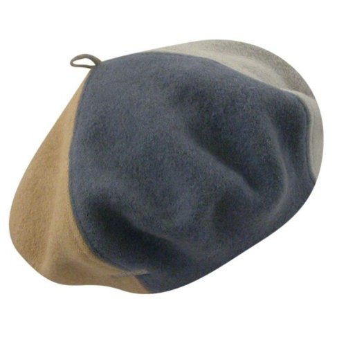 Kangol Men, Women Colour Block Wool Beret