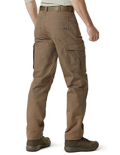 CQR CQ-TWP302-CYT_32W/30L Men's Rip-Stop Tactical Work Utility Operator Pants EDC TWP302 by CQR (Image #2)