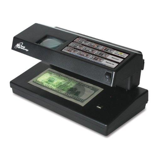 Counterfeit Detector, Compact/Portable, 11 quot;x6 quot;x6 quot;, Black
