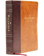 NASB, MacArthur Study Bible, 2nd Edition, Leathersoft, Brown, Comfort Print: Unleashing God's Truth One Verse at a Time