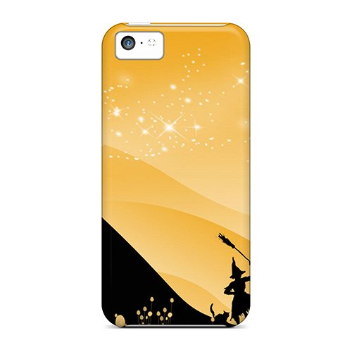 Awesome BOS2472oQPQ Huoner Defender Tpu Hard Case Cover For Iphone 5c- Happy (Awesome Halloween Cover Photos)