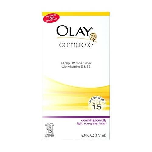 OLAY Complete All Day UV Moisturizer SPF 15 Combination/Oily