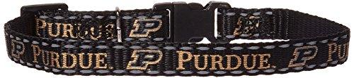 (Pet Goods Manufacturing NCAA Purdue Boilermakers Cat Collar, 3/8 x 8-12