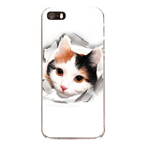 """Disagu Design Case Coque pour Apple iPhone SE Housse etui coque pochette """"Neugieriger Entdecker"""""""