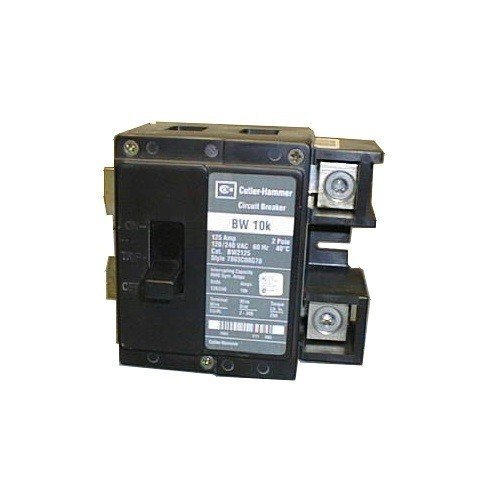 - Cutler Hammer bw2175 2 pole 1 Phase Circuit Breaker 175 Amps Bolt-on BW Series, type BW bolt-on