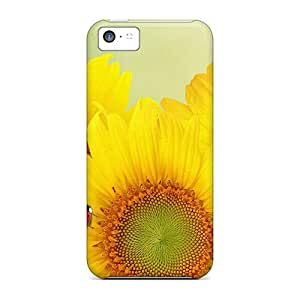 CarlHarris GvA5967Hnnw Cases Covers Skin For Iphone 5c (ladys Sunflowers)