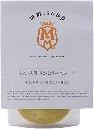mm.soup とろ~り濃厚かぼちゃのスープ 180g×6P 34種類の純国産野菜と伝統発酵食材の米こうじが入った食べるスープスムージー