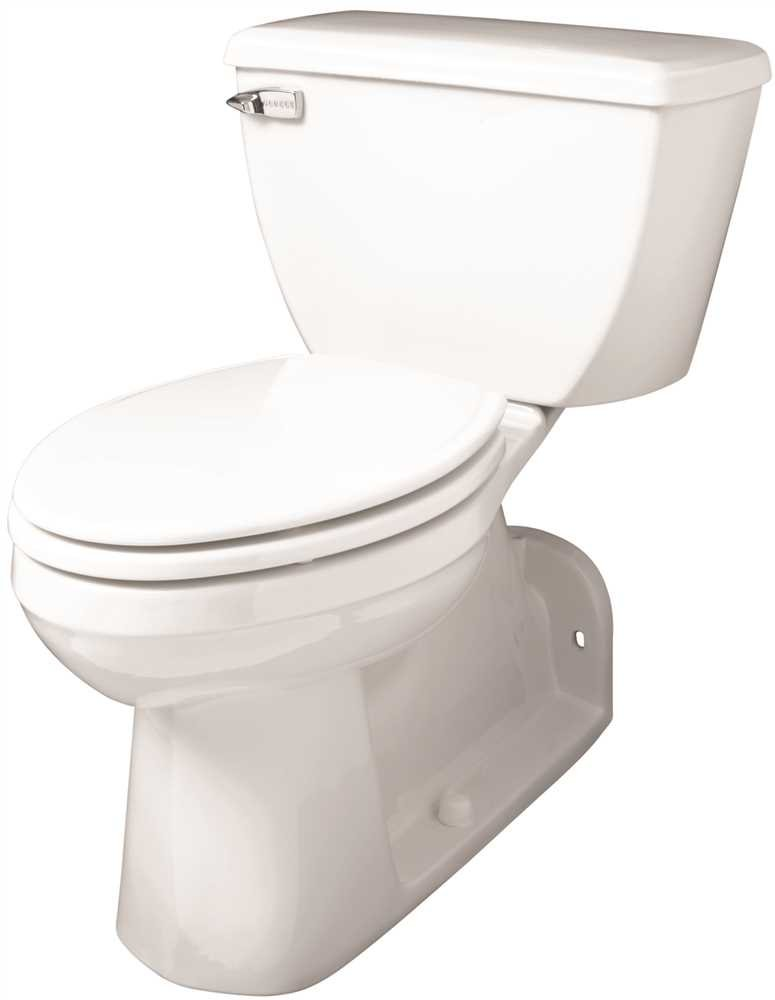 GERBER PLUMBING back flush toilet