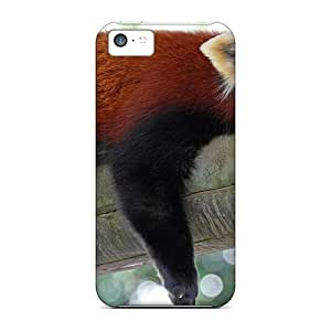 Slim Fit Protector Shock Absorbent Bumper Red Panda Firefox Cases For Iphone 5c