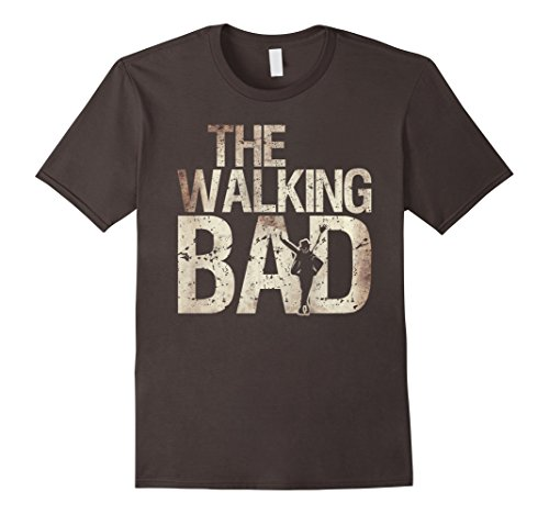 Mens Walking Bad Shirt Zombie Jacket Dancer Artist Tee Medium (Zombie Pop Star Halloween Costume)