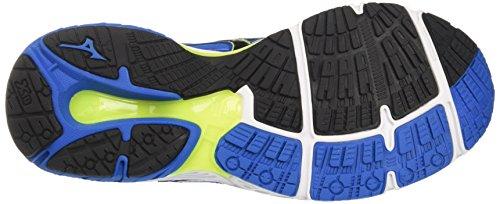 Mizuno Wave Prodigy, Scarpe da Corsa Uomo Multicolore (Directoireblue/Black/Safetyyellow)
