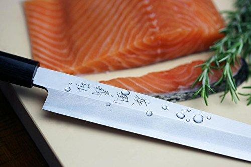 Yoshihiro VGYA300SH Stainless Hongasumi Yanagi Sushi Sashimi Japanese Chef knife, 11.8'', Rosewood by Yoshihiro (Image #7)