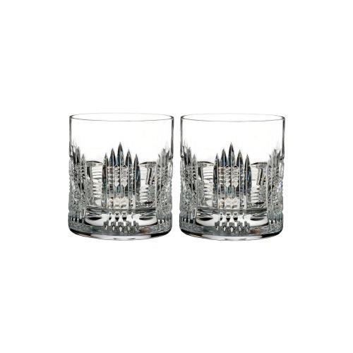 Waterford Essentially Dungarvan Set of 2 Double Old Fashioned Glasses