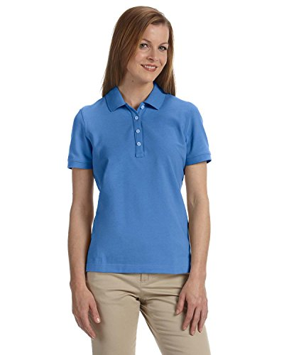 (Chestnut Hill Men's Performance Plus Pique Polo Shirt, White, XXXXX-Large)