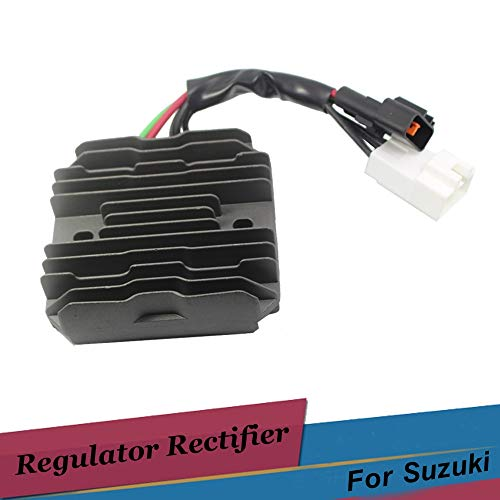 Cacys-Store - Motorcycle Voltage Regulator Motor Rectifier 12v For Suzuki AN650 BURGMAN 650 VL1500 VLR1800 Intruder C1800R