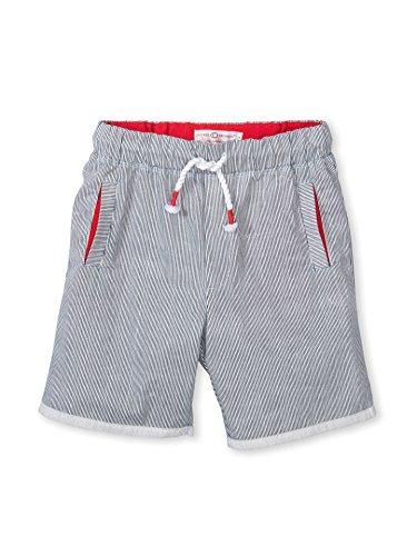 Cotton Pinstripe Shorts (Colored Organics Boys Organic Bruin Board Shorts - Pinstripe - 2T)