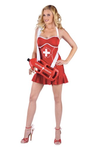 Sexy  (Off Duty Lifeguard Adult Costumes)