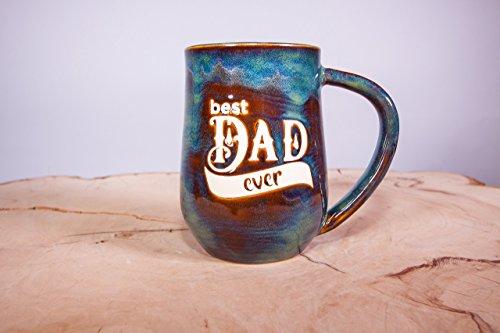 Best Dad Ever Handmade Pottery Coffee Mug