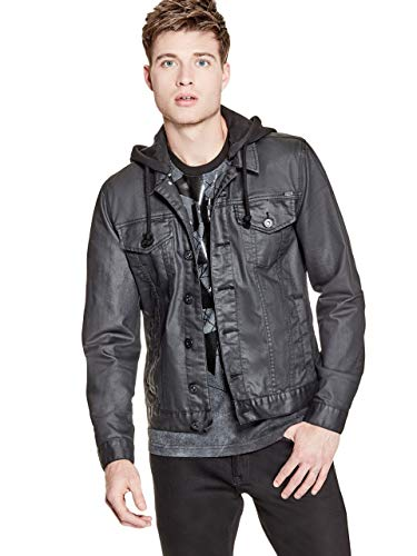 GUESS Factory Men's Rakim Denim Jacket (Jacket Jeans Guess)