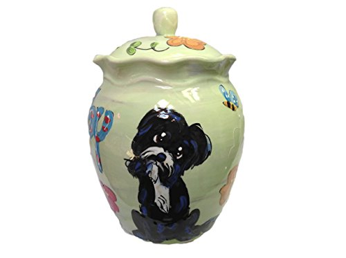 Pet Memorial Urn, Personalized at no Charge. Signed by Artist, Debby Carman. (Memorial Pet Breed)