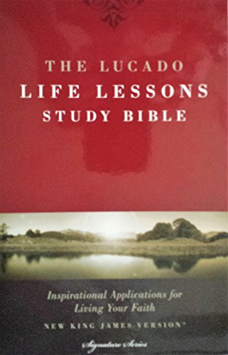 The Lucado Life Lessons Signature Series Study Bible with Black Leathersoft Cover