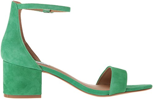 Heeled Suede Green Steve Dress Women's Irenee Madden Sandal wnxxqTtBg
