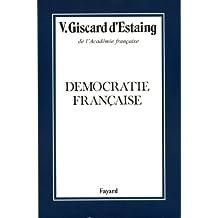 Démocratie française (Histoire Contemporaine) (French Edition)