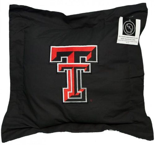 - Northwest Authentic Sports NEW! Texas Tech University Red Raiders Embroidered NCAA Pillow 20