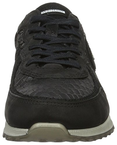 Ecco Sneak Ladies, Baskets Basses Femme Noir (50046Black/Black-Black/Black)