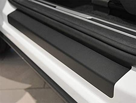 WGS Ladekantenschutz Sto/ßstangenschutz Lackschutzfolie Schutzfolie Lackschutz Carbon Chrom 3D 320/µm 2038-104