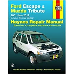 Image of the product Ford Escape and Mazda that is listed on the catalogue brand of Haynes.