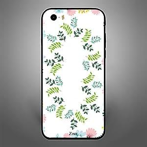 iPhone SE Printed Leaves