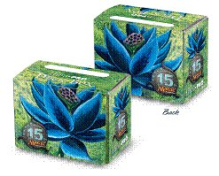 Ultra Pro MTG Magic 15th Anniversary Black Lotus Art Deck Box with 80 Sleeves by Ultra Pro
