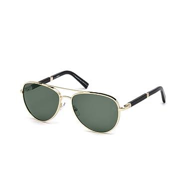 Amazon.com: anteojos de sol Ermenegildo Zegna EZ 66 EZ 0066 ...