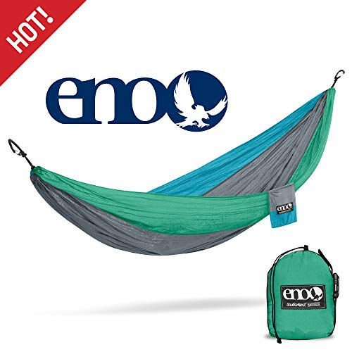 ENO Eagles Nest Outfitters - DoubleNest Hammock, Portable Hammock for Two, PCT Special Edition ()