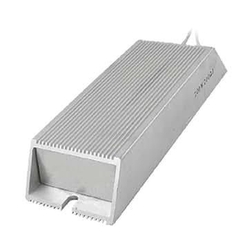 Aluminum Housing Wirewound Braking Resistor 200W 100 ohm
